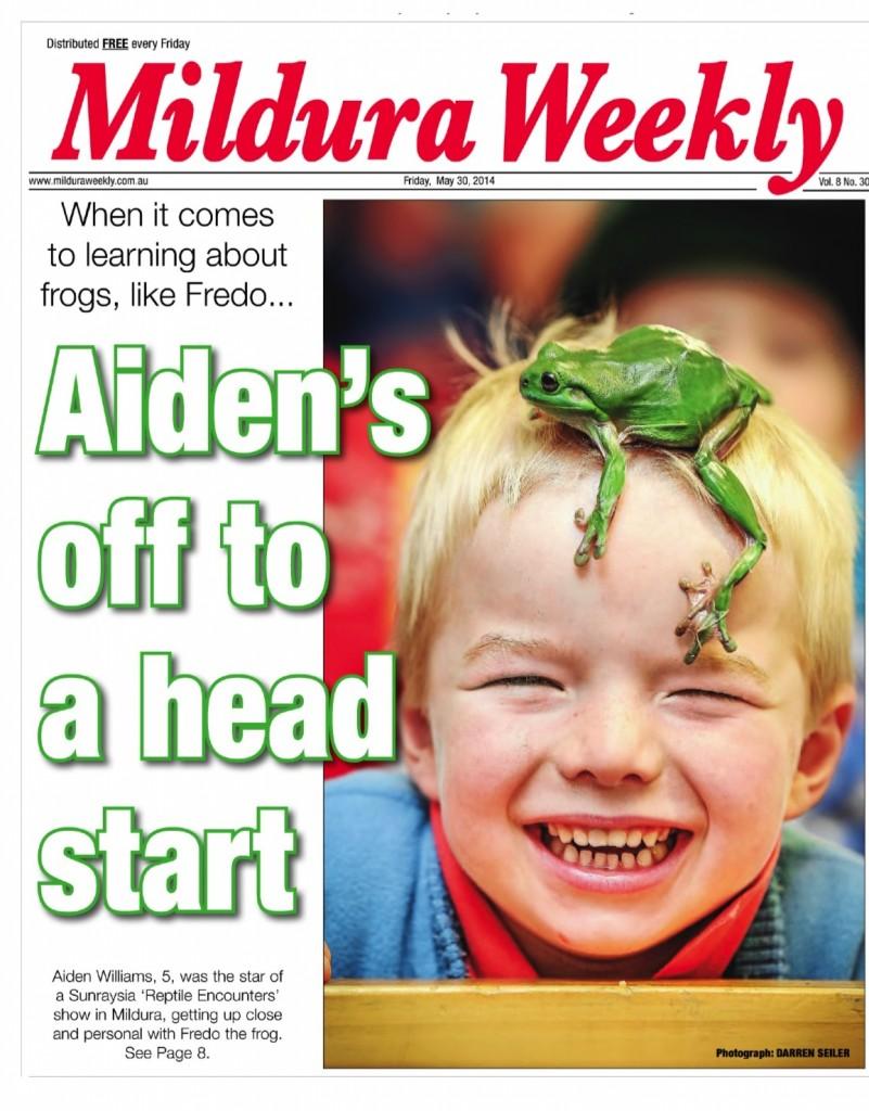 Mildura Weekly Front